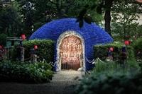 Vườn cây biến thành không gian nghệ thuật